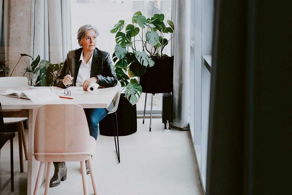 Monika Lepel: Was macht einen guten Arbeitsplatz aus, Frau Innenarchitektin?